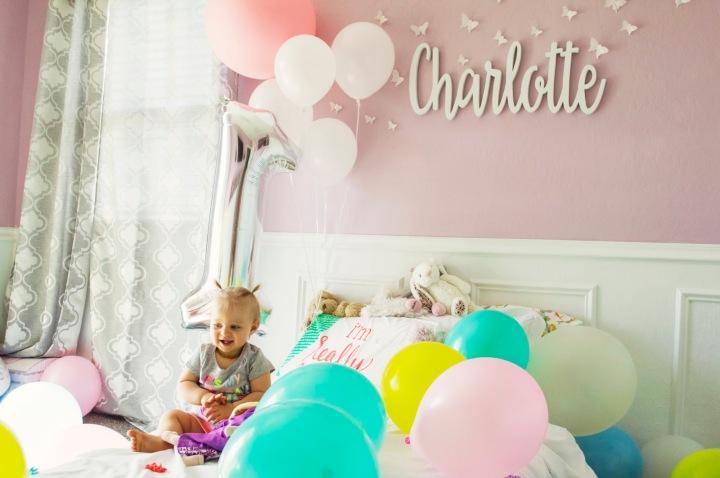 Happy First BirthdayCharlotte!